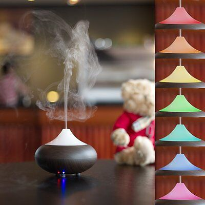 VicTsing Electric Aromatherapy Essential Oil Diffuser Mist Humidifier colour LED