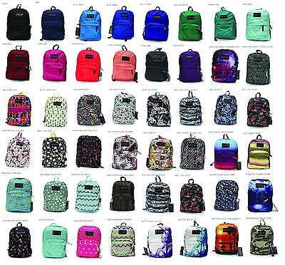 Jansport Superbreak Backpack  School Book Bag New - Original 100% Authentic