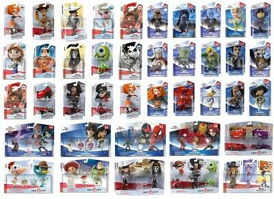 BNiB NEW DISNEY INFINITY FIGURES PLAYSET CHOICE OF ORIGINALS MARVEL 1.0 2.0 3.0