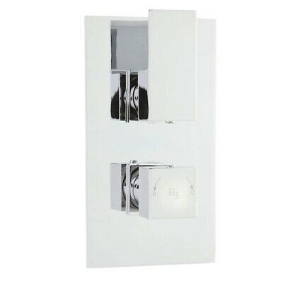 Hudson Reed Art Twin Concealed Thermostatic Mixer Shower Valve