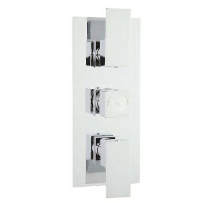 Hudson Reed Art Triple Concealed Thermostatic Mixer Shower Valve