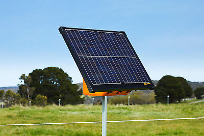 SOLAR S17 ELECTRIC FENCE ENERGISER - Gallagher Panel Battery Included Fencing