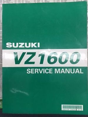 Suzuki Factory Service Manual For Vz1600