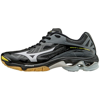 Mizuno Wave Lightning Z2 Women's Volleyball Shoes - Black & Silver - 430202