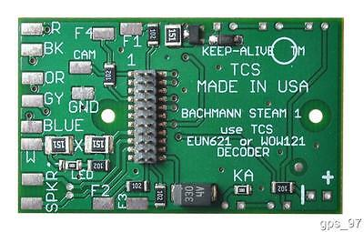 HO TCS 1544 B-BM1 Motherboard to Replace the Circuitboard Bachmann 4-8-2 - New