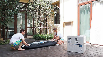 Pinnacle Spa Deluxe Inflatable Hot Tub