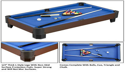 """Sharp Shooter 40"""" Table Top Pool Table Game By Carmelli"""