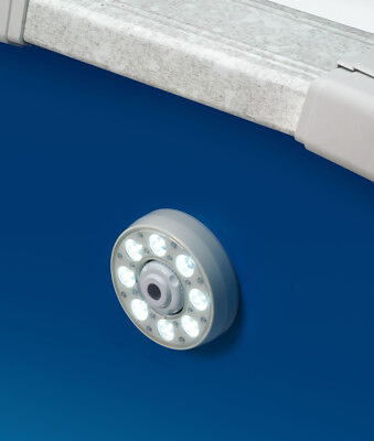 Above-Ground LED Thru-Wall Light - Install in your return jet