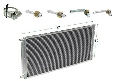 CNFP1419KT Kit A//C Universal Condenser Parallel Flow 14 x 19 With Drier Fitting