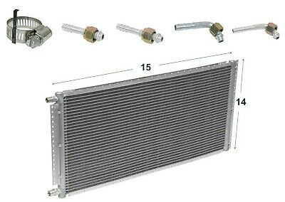 CNFP1416KT Kit A//C Universal Condenser Parallel Flow 14 x 16 with Receiver Drie