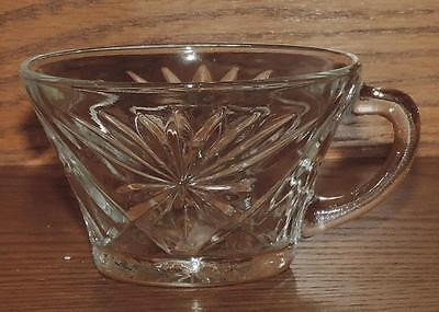 "NM VINTAGE 1941-70's ANCHOR HOCKING PRESCUT EAPC ""OATMEAL"" HANDLED TEA CUP"