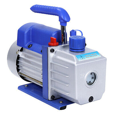 4CFM 1/3HP Rotary Vane Deep 1 Stage Vacuum Pump110V High Efficiency Us Local