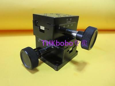 CHUO SEIKI LD-612 XY axis two direction Travel ±15mm Stage size 40mm×60mm #U06q