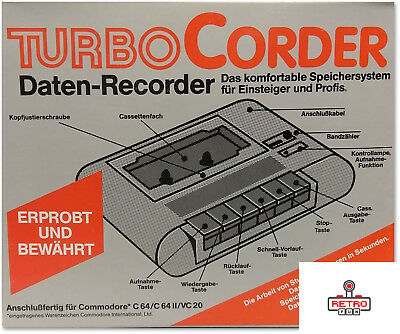 Tape Deck For Commodore 64 / 128  - Brand New - Old Stock !!! Bargain