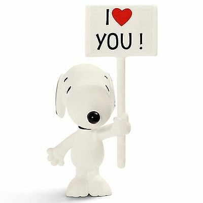 SCHLEICH PEANUTS FIGURE of I love you! Snoopy - 22006 - New with Tags