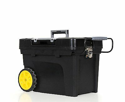 STANLEY 033026R Contractor Chest, Black/Yellow