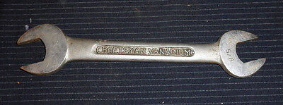 Antique Vintage Craftsman open end wrench forged 5/8
