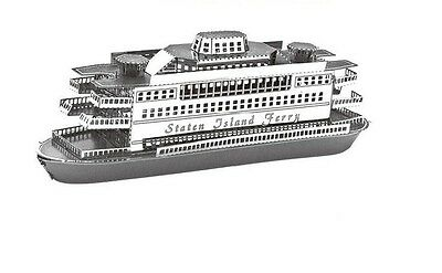 Commuter Ferry Boat Metal 3D Laser Cut Model Kit NEW