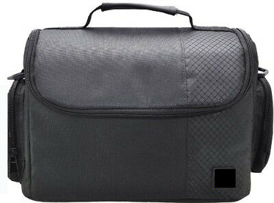 Large Black Digital Camera Carrying Bag/Case for Canon EOS T6i T6s SL1 T5i T5