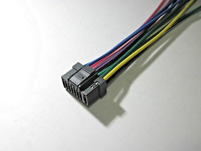 alpine cde 9872 wire wring harness new s 5 39 picclick rh picclick com Car Stereo Alpine CDA 9805 Alpine Wiring Harness Color Code