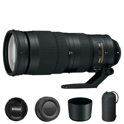 Nikon AF-S NIKKOR 200-500mm f/5.6E ED VR Lens for DSLR Camera Bodies
