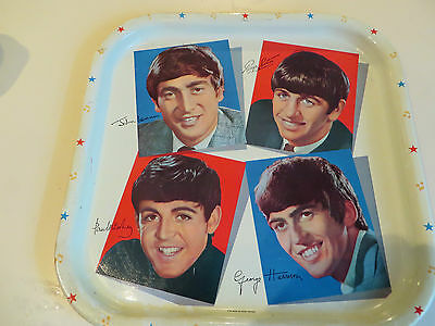 Vintage Beatles tray made in England