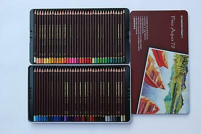 Watercolor Pencil Set of 72 Fine Aqua & Chunky Leads for great Art effects-sale