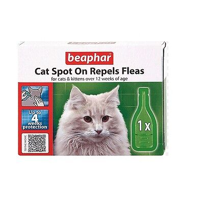 Cat Spot on Treatment Repels Fleas up to 4 Week Protection • EUR 6,59