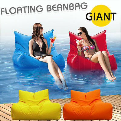 Huge floating pool bean bag 4 colours avail suitable outdoor indoor lounge chair