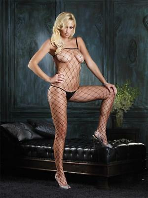 VARIOUS Sex y Fence Net Crotchless Bodystocking -Catsuit Playsuit Teddy Lingerie