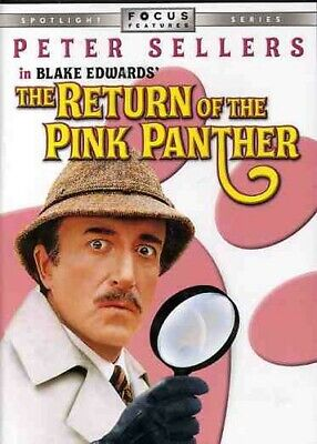 The Return of the Pink Panther DVD