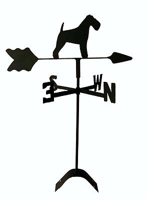 lakeland terrier roof mount weathervane wrought iron look made in usa TLS1042RM