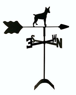 rat terrier chihuahua roof mount weathervane wrought iron lookTLS1041RM