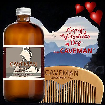 Health & Beauty Hand Crafted Tobacco Beard Oil Conditioner 2 Oz By Caveman® Beard Care Shave