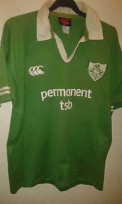 IRELAND RUGBY L Camiseta Jersey Polo Shirt