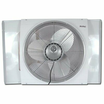 """Air King 9166 20"""" Whole House Window Fan for 9100 Series Industrial Fans"""
