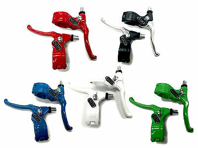 Old School Bmx Tech 77 Left And Right Levers By Dia Compe Colours Various