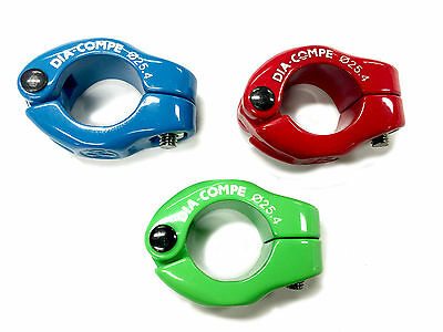 Old School Bmx Seat Clamp Freesyle By Dia Compe Various Colours