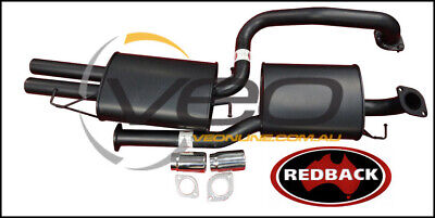 "Ford Falcon Ba-Bf Xr6 Non Turbo Sedan Redback 2 1/2"" Cat Back Exhaust"