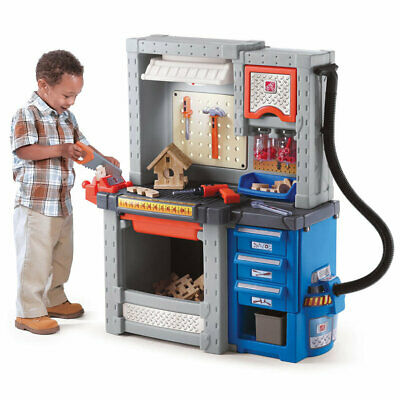 Deluxe Workshop by Step2 | Kids Childrens Toddler Pretend Play Playset NEW