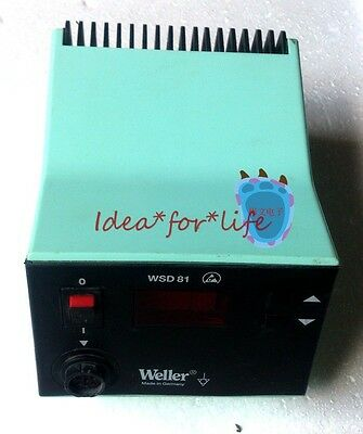 Used Good Weller WSD 81 WSD81 Soldering Station,No cable and iron! #C0Sm