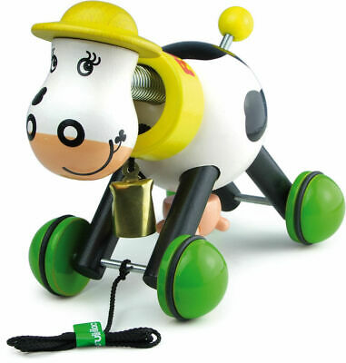 Rosy The Cow Pull Toy by Vilac | Kids Childrens Toddler Push Pull NEW