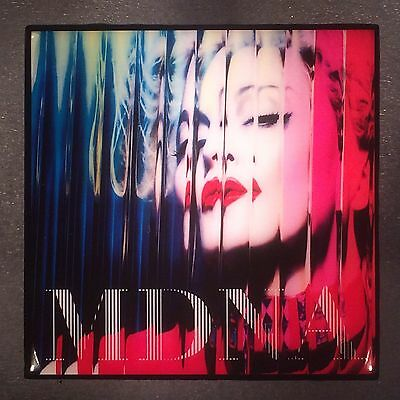 MADONNA MDNA Record Cover Art Ceramic Tile Coaster