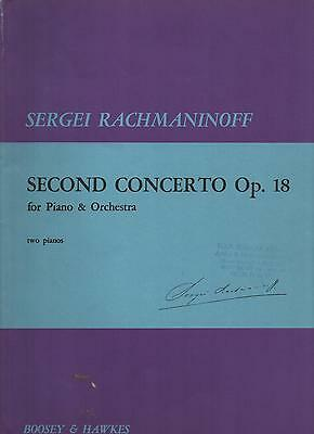 Sergei Rachmaninoff - Second concerto Op. 18 for piano & Orchestra- NEUF