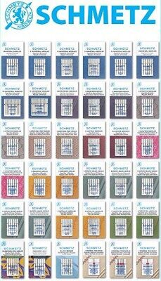 Schmetz Sewing Machine Needles - BUY 2, GET 3rd PACKET FREE + Fast UK Dispatch!