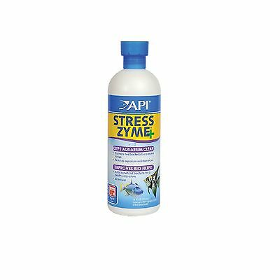 Api Stress Zyme 473ml Live Bacteria Aquarium - Posted Today If Paid Before 1PM