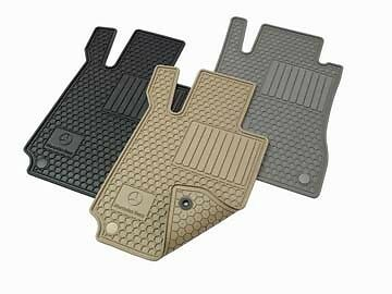New OEM Mercedes-Benz All-Season Floor Mats All-weather Rubber Mats
