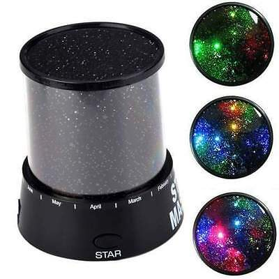 LED Starry Night Sky Projector Lamp Kids Gift Star light Cosmos Master Romantic