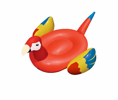 Swimline Giant Inflatable Parrot Swimming Pool Riding Float