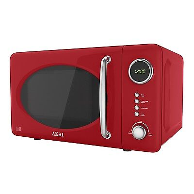 Akai A24006R Digital Microwave 700 W - Red Akai